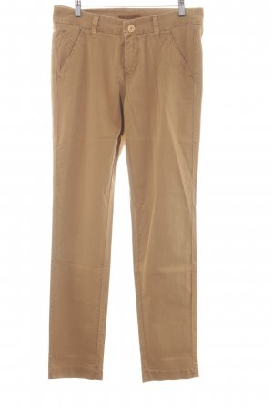 Mac Stoffen broek bruin casual uitstraling