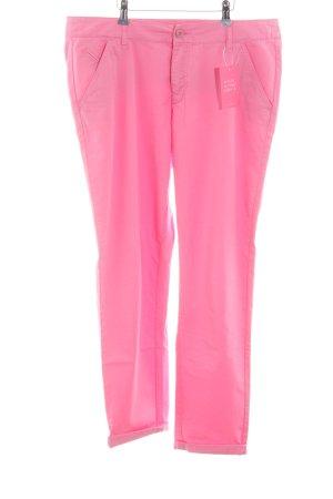 Mac Stoffhose pink Casual-Look