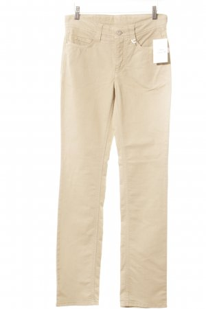 Mac Stoffhose sandbraun Casual-Look