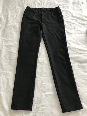 MAC Stoffhose schwarz 36 Skinny röhre