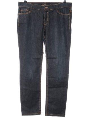 Mac Straight Leg Jeans blue casual look