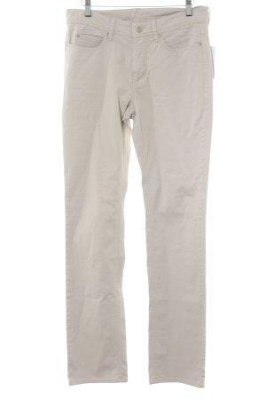 "Mac Straight-Leg Jeans ""Angela"" beige"