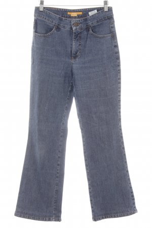 "Mac Straight-Leg Jeans ""Angela"" blau"
