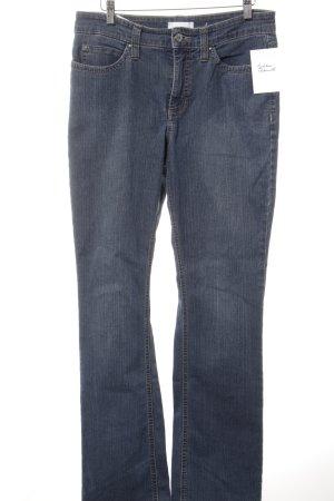 "Mac Straight-Leg Jeans ""Angela"" blau"