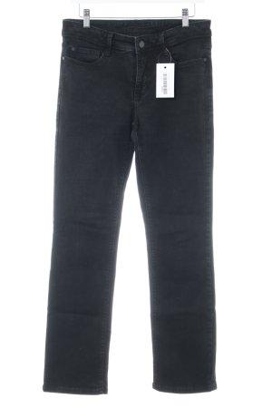 "Mac Straight-Leg Jeans ""Angela"" schwarz"