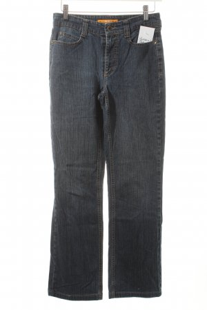Mac Straight-Leg Jeans blau Casual-Look