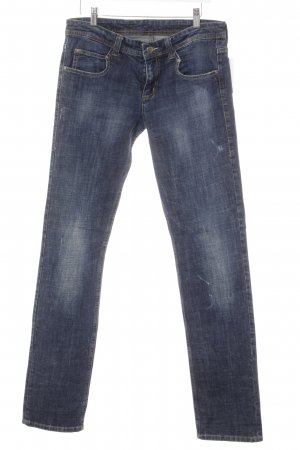 "Mac Straight-Leg Jeans ""Boyfriend"" blau"