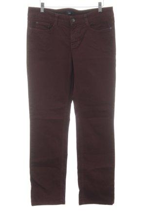 Mac Straight-Leg Jeans braunrot Casual-Look