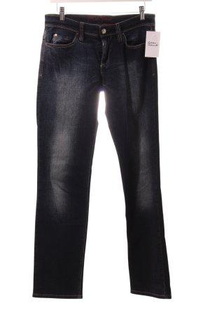 "Mac Straight-Leg Jeans ""Carrie"" dunkelblau"