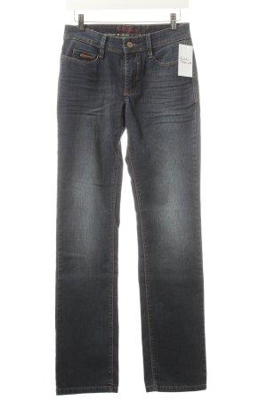 Mac Straight-Leg Jeans dunkelblau