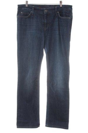 Mac Straight Leg Jeans dark blue casual look