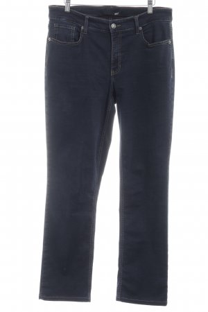 Mac Straight-Leg Jeans dunkelblau Casual-Look