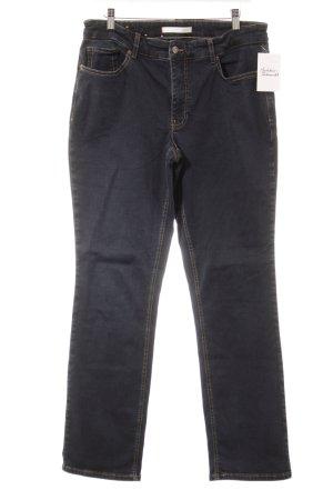 Mac Straight-Leg Jeans dunkelblau Casual-Look