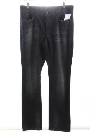 Mac Straight-Leg Jeans dunkelblau schlichter Stil