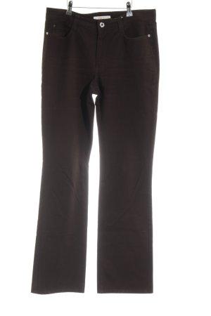 Mac Straight-Leg Jeans dunkelbraun Casual-Look