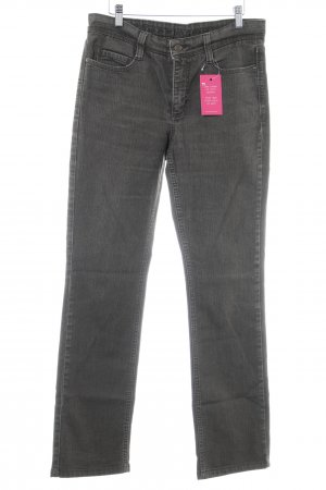 Mac Straight-Leg Jeans dunkelbraun Casual-Look