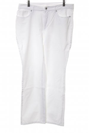 Mac Straight-Leg Jeans weiß Casual-Look