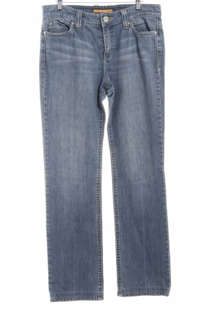 Mac Straight-Leg Jeans graublau Casual-Look