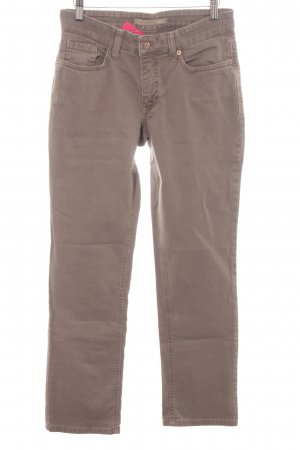 Mac Straight-Leg Jeans graubraun Casual-Look