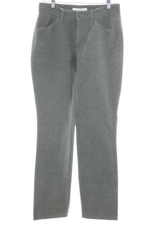 Mac Straight-Leg Jeans grüngrau Casual-Look