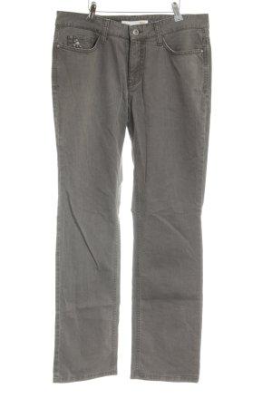 Mac Straight-Leg Jeans grüngrau klassischer Stil