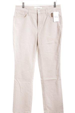 Mac Straight-Leg Jeans hellbeige klassischer Stil
