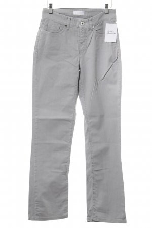 Mac Straight-Leg Jeans hellgrau Casual-Look