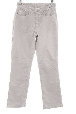 "Mac Straight-Leg Jeans ""Melanie"" hellgrau"
