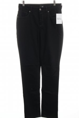 "Mac Straight-Leg Jeans ""Melanie Pipe Dynamic"" schwarz"
