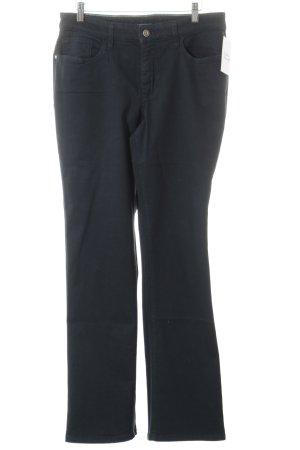 Mac Straight-Leg Jeans petrol Street-Fashion-Look
