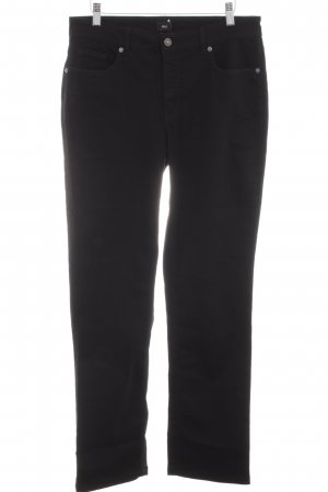 Mac Straight-Leg Jeans schwarz Business-Look