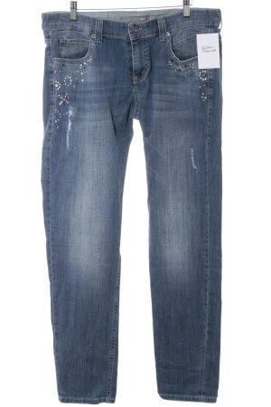 Mac Straight-Leg Jeans stahlblau Casual-Look