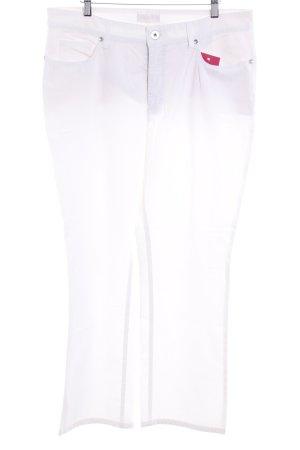 Mac Straight-Leg Jeans weiß schlichter Stil