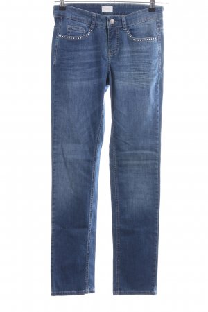 Mac Stretch Jeans blue casual look