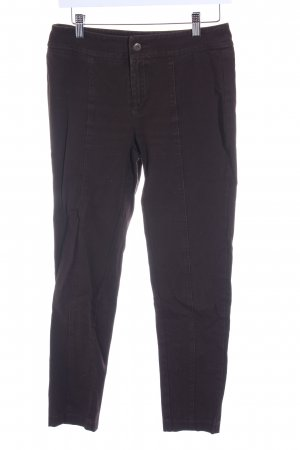 Mac Stretch jeans donkerbruin casual uitstraling