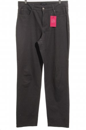 Mac Stretch Jeans dark grey casual look