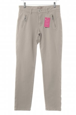 Mac Stretchhose beige Casual-Look