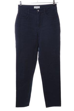 Mac Stretchhose blau Casual-Look