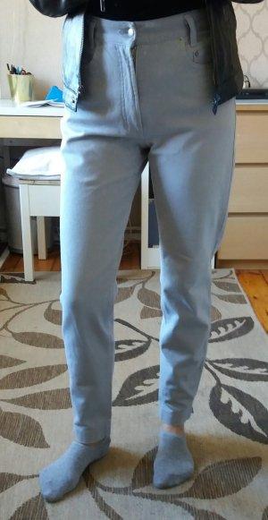 Mac Jeans carotte gris clair
