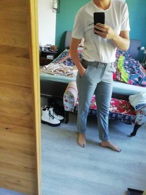 Mac Woolen Trousers light grey