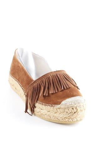 Macarena Babouche brun style extravagant