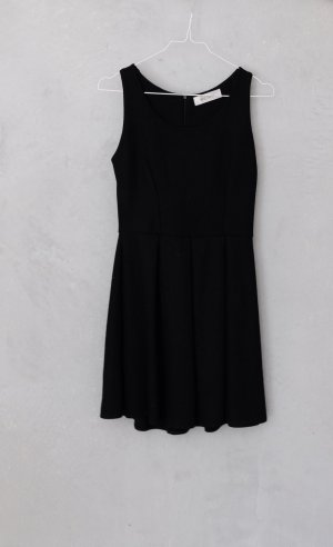 Knitted Dress black polyester