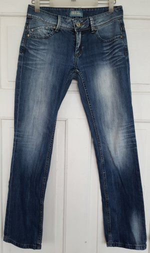 Boyfriend jeans korenblauw