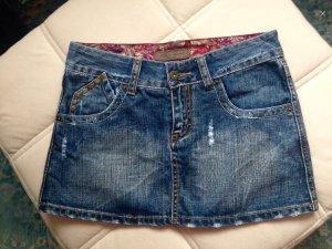 MADE FOR LOVING Damen Jeans Mini-Rock
