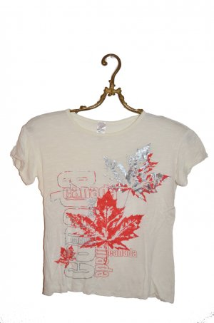 Made in Canada Shirt Rayon Gr. XS