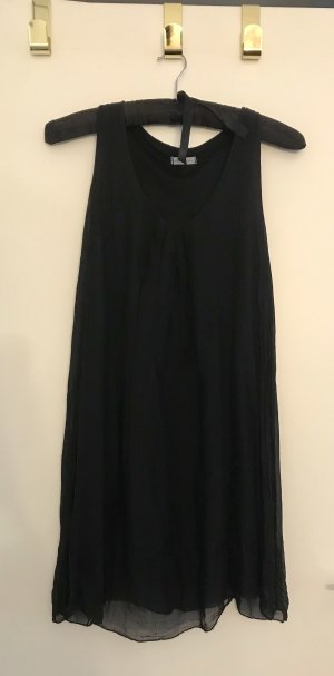 Made in Italy Babydoll Dress black