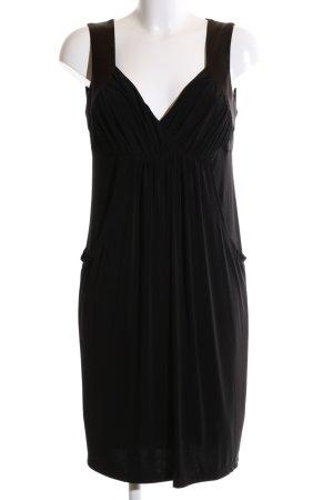 Made in Italy Abendkleid schwarz Elegant