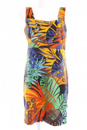 Made in Italy Bleistiftkleid grafisches Muster Beach-Look
