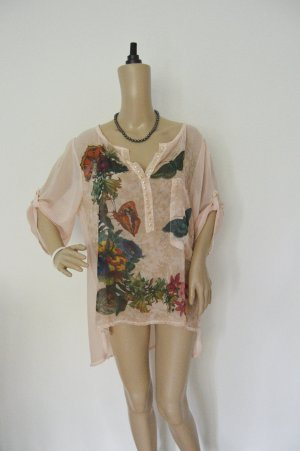 Made In Italy Bluse 42/44 nude