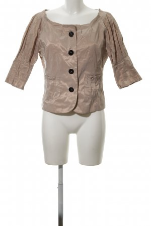 Made in Italy Blouse Jacket bronze-colored casual look